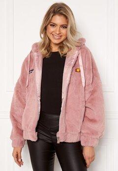 Ellesse El Giovanna Jacket Hoody Pink Bubbleroom.eu