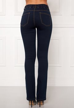 Happy Holly Elwira bootcut jeggings Dark denim Bubbleroom.eu