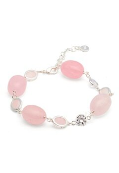 SNÖ of Sweden Emilia Mix Bracelet S/pink Bubbleroom.eu
