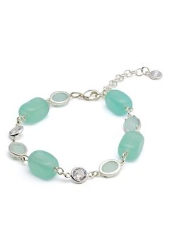 SNÖ of Sweden Emilia Mix Bracelet S/Mint Bubbleroom.eu