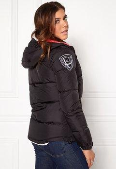 D.Brand Eskimå Jacket Black/Pink Bubbleroom.eu