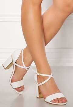 Truffle Fallon High Heel Sandals Wht Bubbleroom.eu