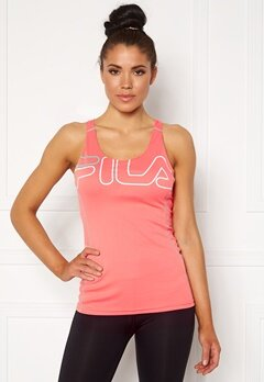 FILA Aisha Racer With Bra Shell Pink/White Bubbleroom.eu