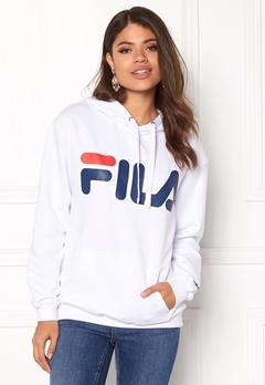 FILA Classic Logo Hood Kangaro White Bubbleroom.eu