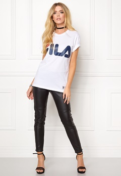 FILA Classic Logo Tee White Bubbleroom.eu