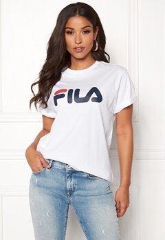FILA Classic Pure SS Tee Bright White Bubbleroom.eu