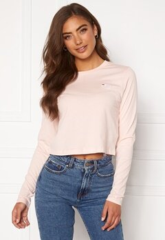 FILA Eaven Cropped LS Shirt A643 English Rose Bubbleroom.eu