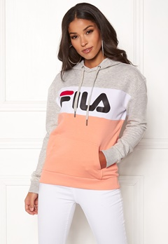 FILA Lori Hoody Light Grey Melange Bubbleroom.eu