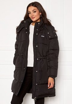 FILA Tender Long Puffer Jacket 002 black Bubbleroom.eu