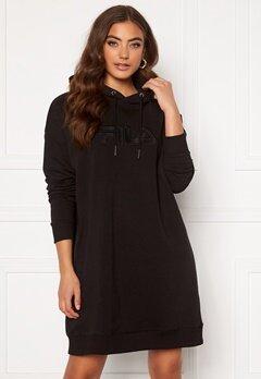 FILA Teofila Oversized Hoody Dress 002 black Bubbleroom.eu