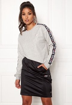 FILA Tivka Crew Sweat Light Grey Melange Bubbleroom.eu