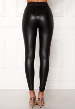 ONLY Flirt PU Leggings Ankel Black Bubbleroom.eu