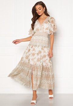 FOREVER NEW Darla Tiered Maxi Dress Jacobean Blossom Bubbleroom.eu
