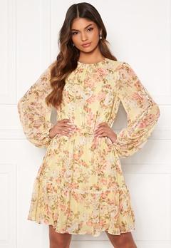 FOREVER NEW Katie Tiered Skater Dress Vintage Lemon Floral Bubbleroom.eu