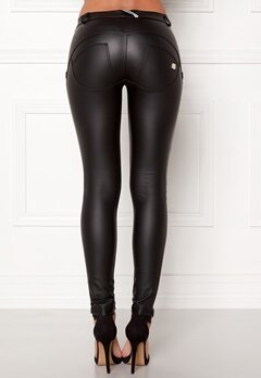 FREDDY WR.UP Shaping LW Legging Black Eco Leather Bubbleroom.eu