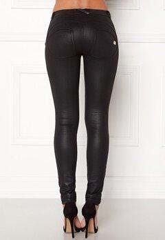 FREDDY Skinny Shaping RW Legging Coated Black New Sty Bubbleroom.eu