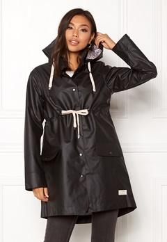 Odd Molly Free Range Rainjacket Almost Black Bubbleroom.eu