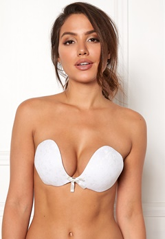 Freebra Lux Lace Bra White Bubbleroom.eu