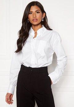 GANT White Business Shirt 110 White Bubbleroom.eu