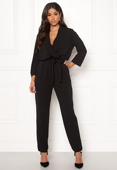 Jacqueline de Yong Geggo Treats 3/4 Jumpsuit Black Bubbleroom.eu