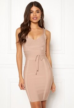 Girl In Mind Arabella Bodycon Dress Nude Bubbleroom.eu