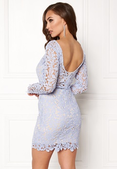 Girl In Mind Cloe Long Sleeve Crochet Lilac Bubbleroom.eu