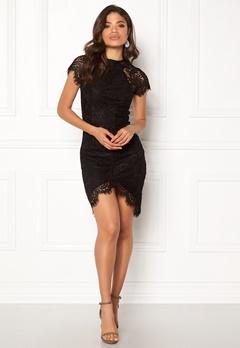 Girl In Mind Francis Lace Dress Black Bubbleroom.eu