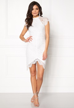 Girl In Mind Francis Lace Dress White Bubbleroom.eu