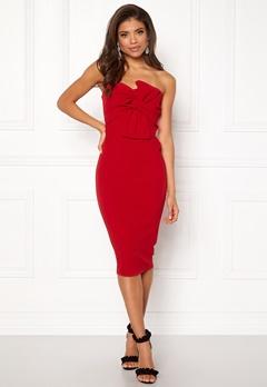Girl In Mind Kendall Dress Red Bubbleroom.eu