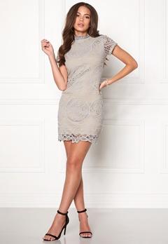 Girl In Mind Lace Dress Grey Bubbleroom.eu