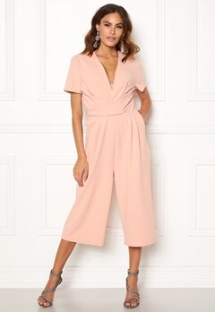 Girl In Mind Megan Culotte Jumpsuit Nude Bubbleroom.eu