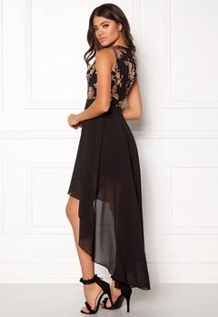 Girl In Mind Sequin High Low Dress Black Bubbleroom.eu