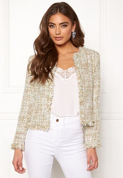 8443ff0e88c Girl In Mind Sienna Crop Jacket Mint Bubbleroom.eu