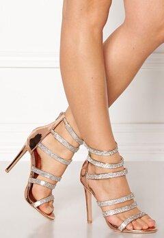 Glossy Milan High Heel Shoe Rose Bubbleroom.eu