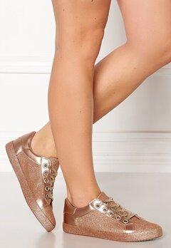 Glossy Penelope Sneaker Champagne Bubbleroom.eu