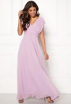 Goddiva Multi Tie Chiffon Dress Iris Bubbleroom.eu
