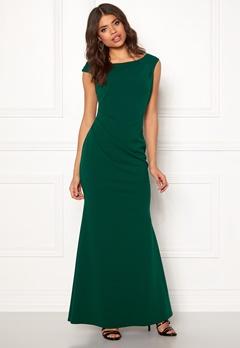 a1e452a14a Goddiva Pleated Fishtail Dress Emerald Bubbleroom.eu