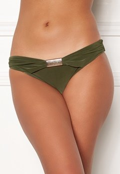 Goddiva Resort Halterneck Bikini Bottom khaki Bubbleroom.eu