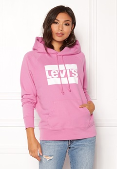 LEVI'S Graphic Sport Hoodie Black Sheep Bubbleroom.eu