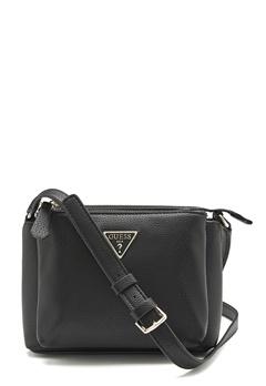 Guess Becca Double Zip Bag Black Bubbleroom.eu