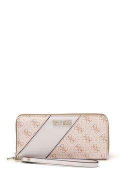 Guess Camy Large Zip Around Bag Blush Multi Bubbleroom.eu