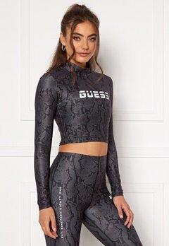 Guess Cropped Top Long Sleeve GBAM Bubbleroom.eu