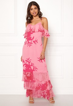 Guess Olinda Dress Flower Impact Pink Bubbleroom.eu
