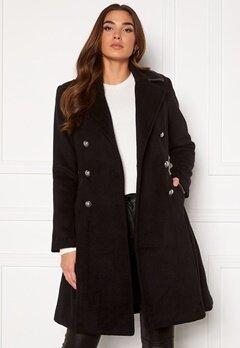 Guess Rossana Coat JBLK Jet black Bubbleroom.eu