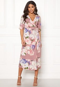 Happy Holly Adaline occasion dress Lavender / Patterned Bubbleroom.eu