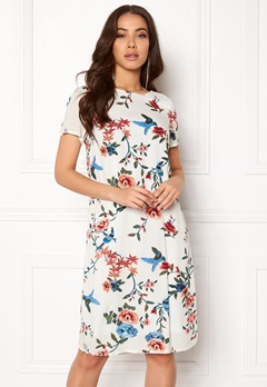 Happy Holly Addy dress Offwhite / Patterned Bubbleroom.eu