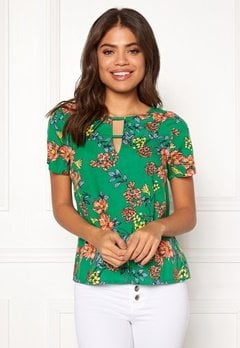 Happy Holly Addy top Green / Patterned Bubbleroom.eu