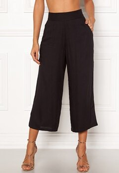 Happy Holly Addy wide pants Black Bubbleroom.eu