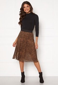 Happy Holly Alaina mesh skirt Leopard Bubbleroom.eu