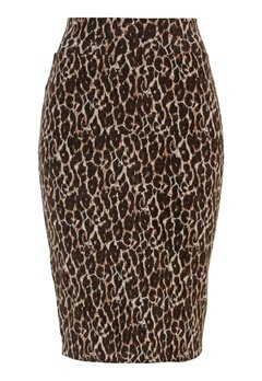 Happy Holly Alexandra skirt Leopard Bubbleroom.eu